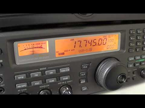 Sudan Radio Service english 17745 Khz last transmission
