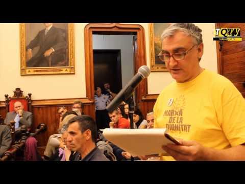 Els Parados+50 demanen a l'Ajuntament que recolzi projecte de llei per una Renda Mínima Garantida