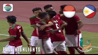 Indonesia (8) vs Filipina (0) - Full Highlight | AFF U 16 Championship 2018
