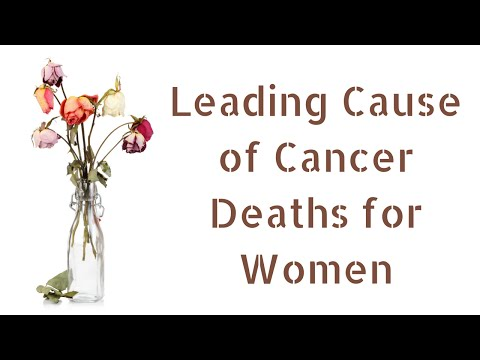 Leading Cause of Cancer Deaths for Women