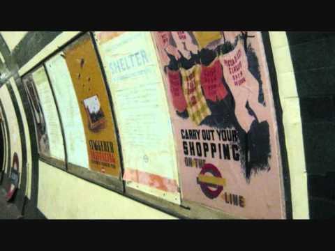 Inside Aldwych tube station London - closed 1994