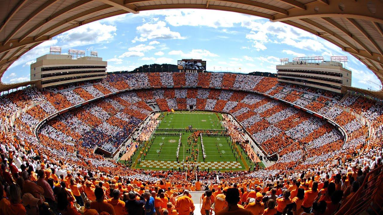 Tennessee Vols Neyland Stadium Checkerboard