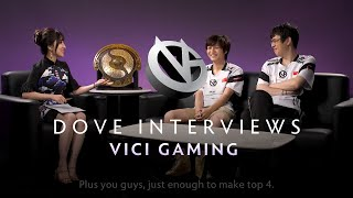 Vici Gaming Interview with Dove - The International 2019