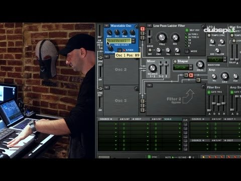 Propellerhead Reason 6 - New Course Preview + Sample Tutorial: Bass Sound Design Using Thor