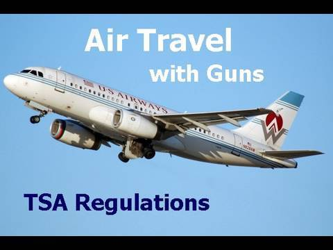 Air Travel with Firearms  TSA Rules