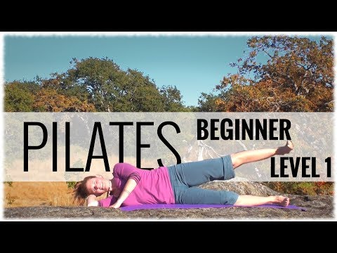 Pilates: Beginner Level 1 Class with Kim Wilson