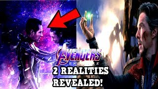 Avengers 4 EndGame DECIMATION CREATED 2 REALITIES REVEALED! Avengers 4 Theory EXPLAINED!