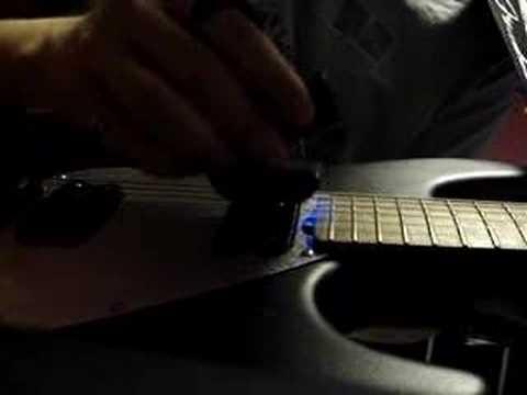 Eleanor Rigby à l'eBow sur guitare