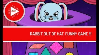 RABBIT OUT OF HAT, FUNNY GAME FOR KIDS, FOR BABIES