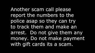 Scammer phone calls to steal your money