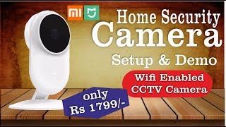 Home Security Camera by MI, Unboxing & Review