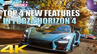 [4K 30] Top 4 NIEUWE FUNCTIES in Forza Horizon 4 | Van Microsoft E3 2018 Persconferentie