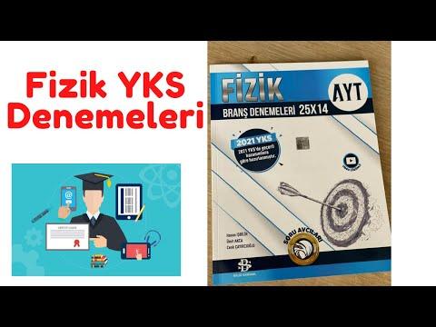 AYT Fizik Denemeleri 2021 Video Çözümleri 10 - Bilgi Sarmal Yayınları