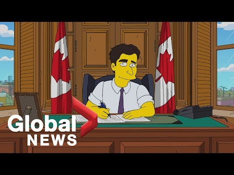 Justin Trudeau impressionist talks about playing PM on 39The Simpsons39