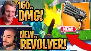 Streamers *FIRST KILLS* with the *NEW* Revolver! (BEST GAMEPLAY) - Fortnite Moments