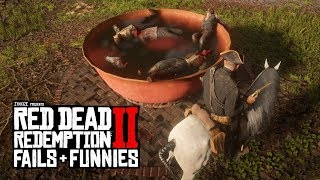 Red Dead Redemption 2 - Fails & Funnies #10 (Random & Funny Moments)