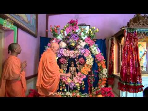 Hindola Darshan Pushpabhash Hindola 14 Jul 2014 Swaminarayan Temple Gandhinagar video