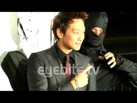 Rain Bi at the premiere of Ninja Assassin in Los Angeles, CA.