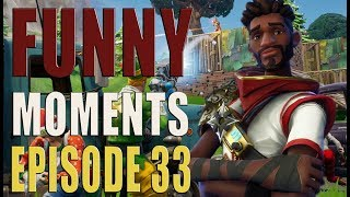 Fortnite Battle Royale - Best Funny WTF And Lucky Moments - Ep.33 [ReUpload]