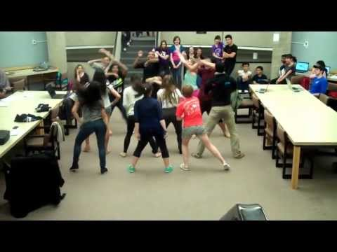 Bollywood Class Library Flash Mob video