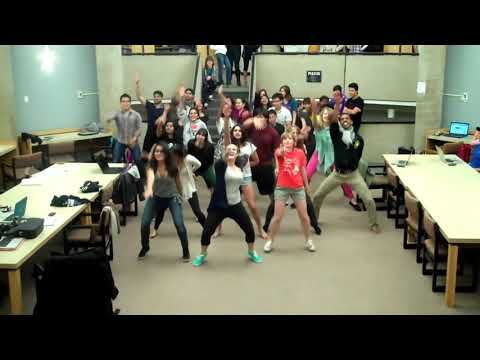 Bollywood Class Library Flash Mob