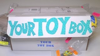 Opening: Your Toy Box SUBSCRIPTION BOX! #8 ~ YourToyBox monthly sub