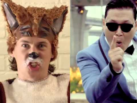 What Does The Fox Say gangnam Style (ylvis And Psy) Mashup video