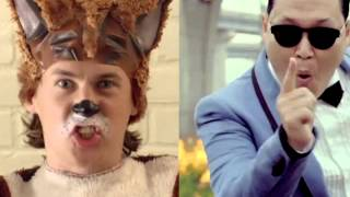 Ylvis Video - What does the Fox say/Gangnam Style (Ylvis and Psy) Mashup