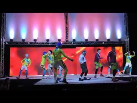LOS MAS MOÑITOS y LA ROKA BATUCADA 2014 EXPOQUINCEAÑERA CINTERMEX