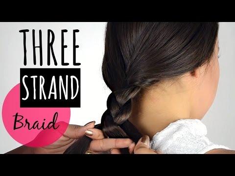 Trenza de 3 Cabos( trenza de tres) /three strand braid