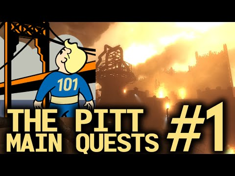 Fallout 3 The Pitt - Main Quests part 1/6