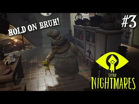 """IM LUNCH! ( FUNNY """"LITTLE NIGHTMARES"""" GAMEPLAY #3 BY ITSREAL85!"""
