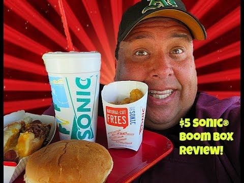 SONIC DRIVE-IN® $5 SONIC BOOM BOX REVIEW! thumbnail