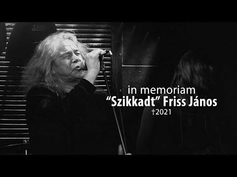 "In memoriam ""Szikkadt"" Friss János 1953-2021 /Sardinelli koncert - Szeged 2015/"