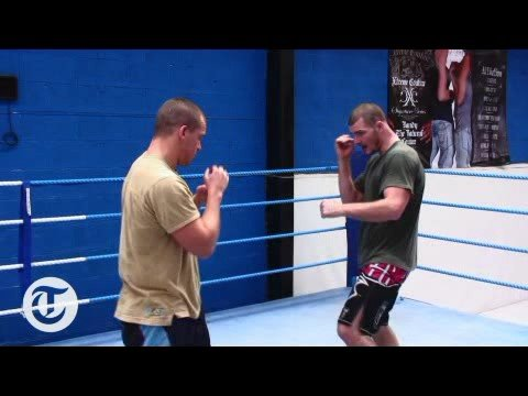 UFC Training With Michael Bisping 3 :How to strike Video