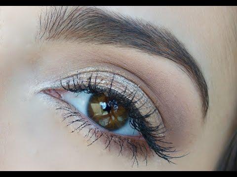 Como maquillar ojos para PRINCIPIANTES   Anna Sarelly
