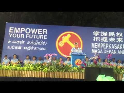 """WP's Png Eng Huat on PAP MP's being """"indispensable"""""""