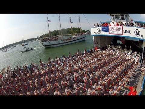 ULTIMATE BOAT RIDE with the OSU MARCHING BAND!