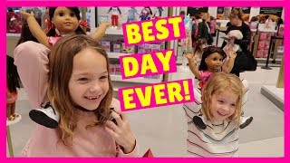 Addy and Maya Visit the American Girl Store in New York !!!