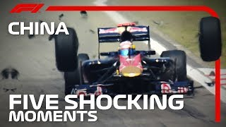 Five Shocking Moments at the Chinese Grand Prix