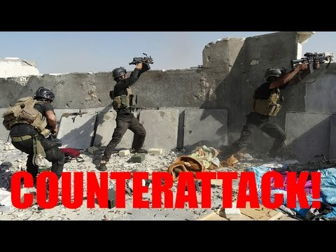 Huge Counterattack Against ISIS In The Iraqi Town Of Tikrit
