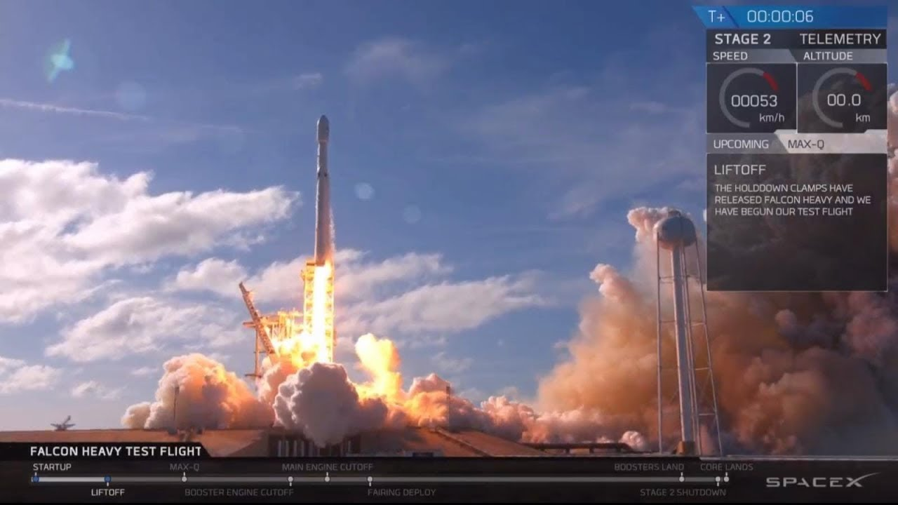 SpaceX launches biggest rocket in the world