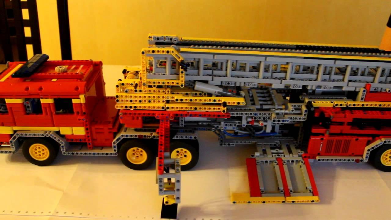Stabilisateur camion de pompier americain youtube - Lit camion de pompier ...