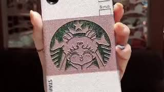 STARMOON CROWN PRINT MOBILE ANTI FALL APPLE IPHONE PHONE CASES