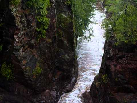 Brownstone Falls at Copper Falls State Park  5-30-11