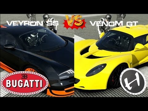 forza motorsport 4 hennessey venom gt vs bugatti veyron ss how to make do everything. Black Bedroom Furniture Sets. Home Design Ideas