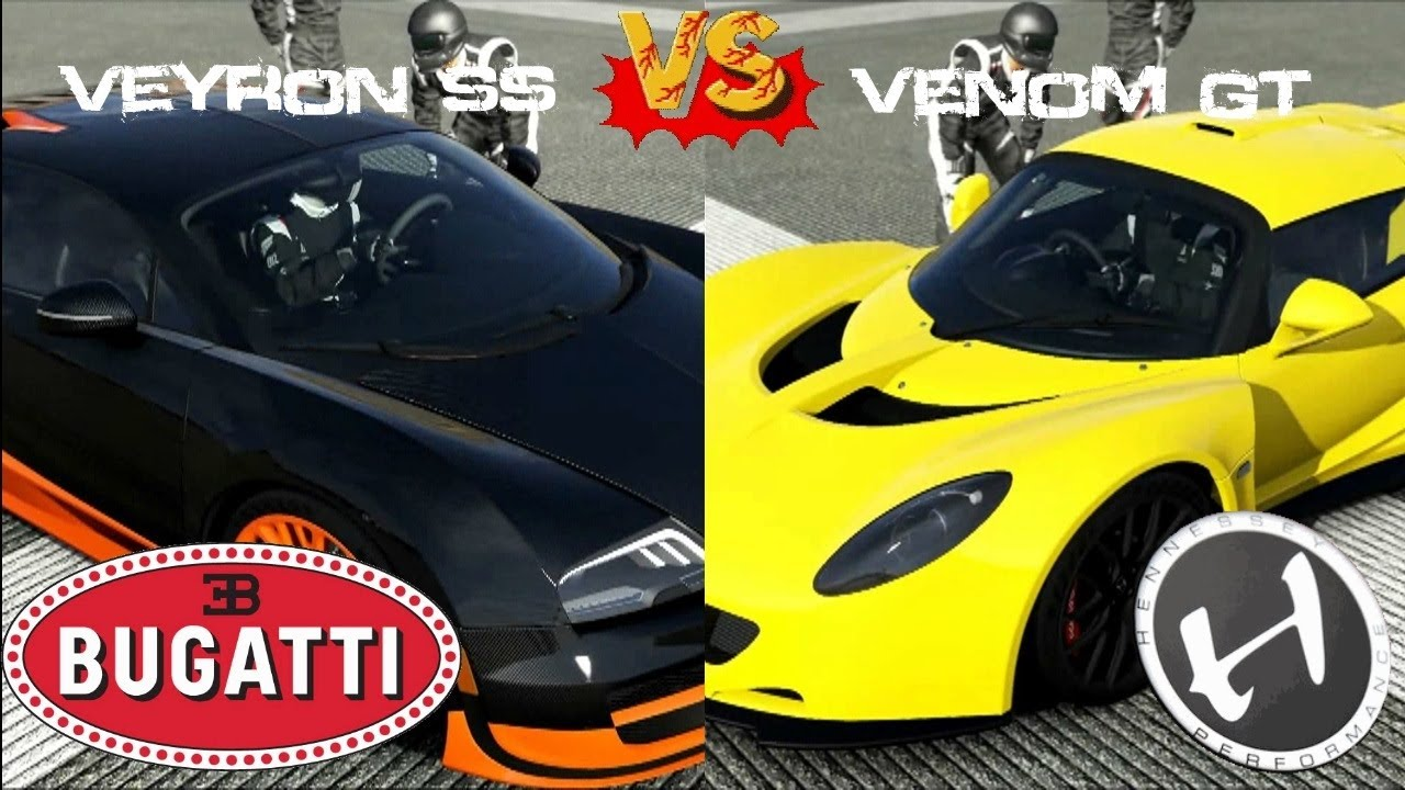 full mile drag bugatti veyron ss vs hennessy venom gt youtube. Cars Review. Best American Auto & Cars Review