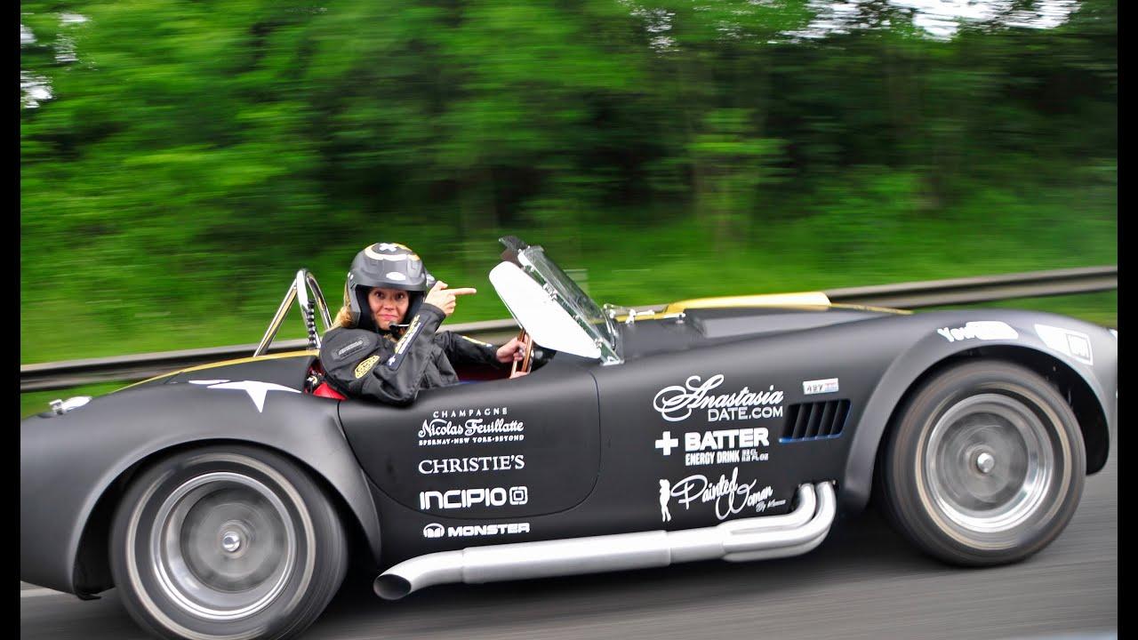 Cruising With Ac Cobra Gumball 3000 Team 113 Youtube