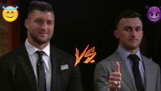 Tim Tebow Meets Johnny Manziel! Good VS. Evil at the Heisman Awards - Lamar Jackson Wins