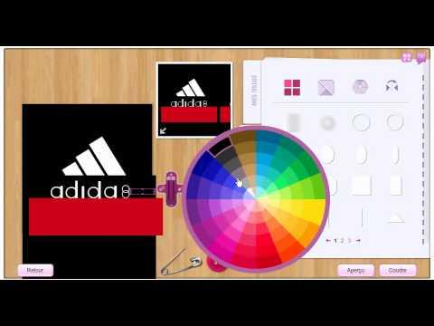 stardoll comment faire un t shirt adidas dans le stardesign youtube. Black Bedroom Furniture Sets. Home Design Ideas